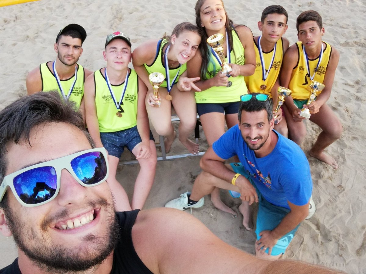 Μεγάλες επιτυχίες στο Final Regional Beach Volleyball Tournament