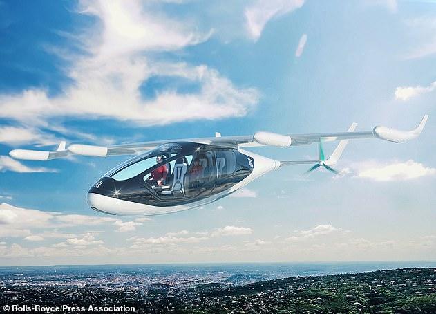 Rolls-Royce: Aποκαλυπτήρια του υβριδικού «ιπτάμενου ταξί» στο σαλόνι του Φάρνμπορου