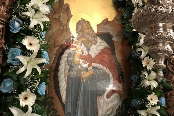Πανηγυρίζει η ενορία του Πρ. Ηλία Λάρισας