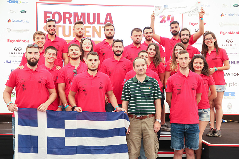 Σημαντική διάκριση για την Φοιτητική Ομάδα Centaurus Racing Team του Πανεπιστημίου Θεσσαλίας