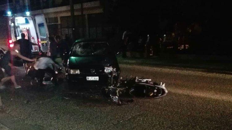 Σοβαρός τραυματισμός δυο νέων με μηχανή στην Πύλη