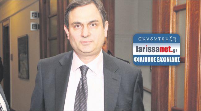 Φ. Σαχινίδης: «Αναγκαία η εθνική συνεννόηση μετά τις εκλογές»