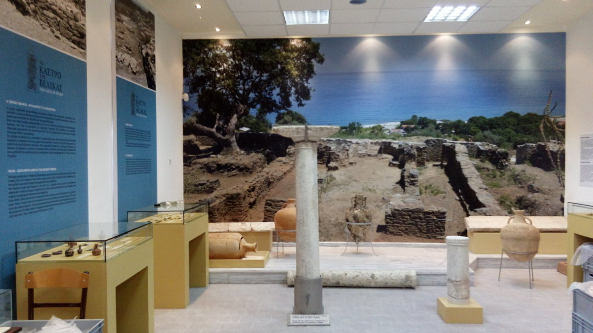 Αρχαιολογική έκθεση στη Μελιβοία για το Κάστρο της Βελίκας