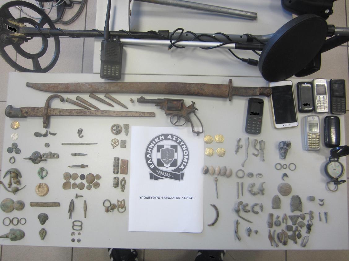 8 συλλήψεις για ανασκαφή και αρχαιολογική έρευνα