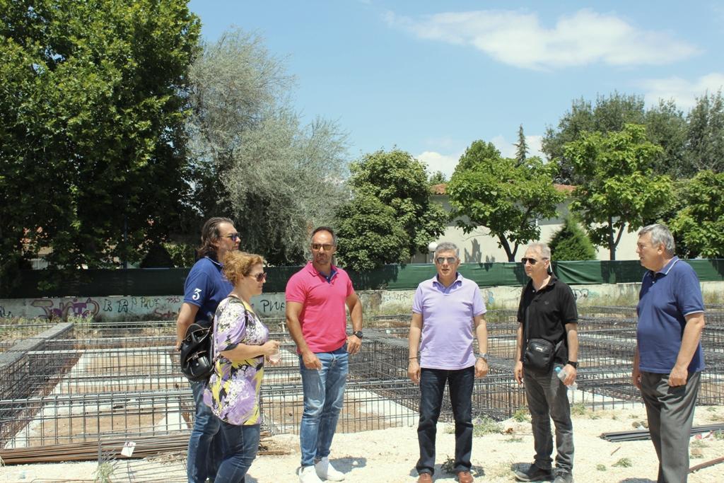 Αυτοψία στο νέο Ειδικό Σχολείο Λάρισας
