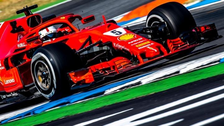 Ο Φέτελ στην pole position