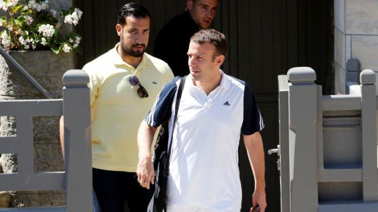 Ελληνικής καταγωγής ο διαδηλωτής που έσπασε στο ξύλο ο «μπράβος» του Μακρόν