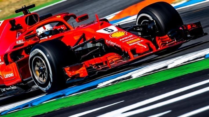 Γκραν πρι Γερμανίας: Ο Φέτελ στην pole position