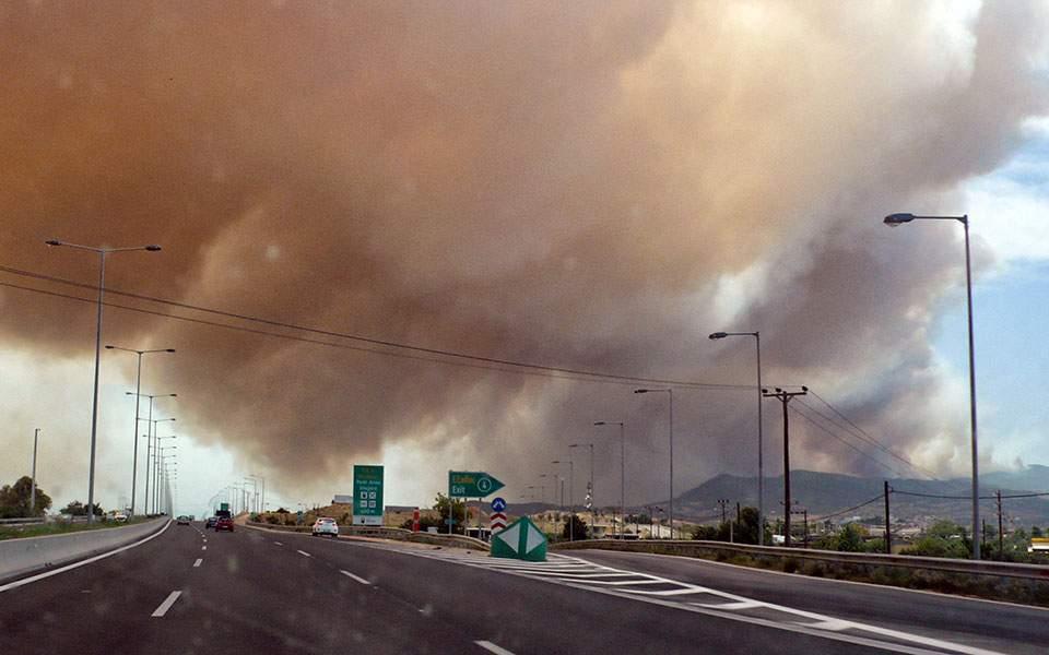 Γ.Γ. Πολιτικής Προστασίας: Πρόκειται για μία από τις πιο δύσκολες πυρκαγιές