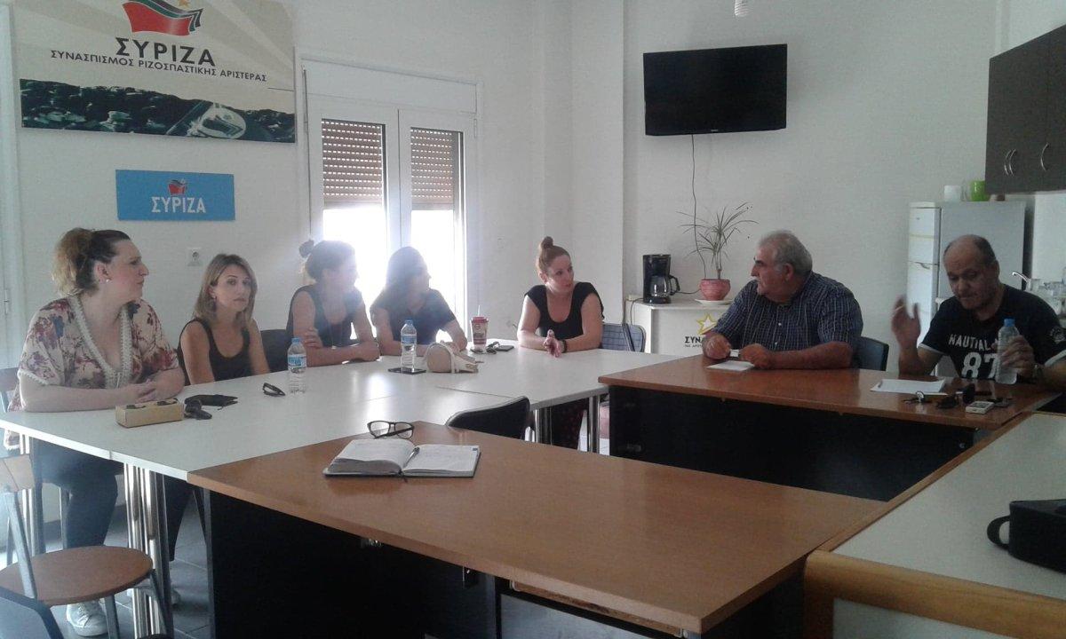Συνάντηση Παπαδόπουλου με εκπαιδευτικούς