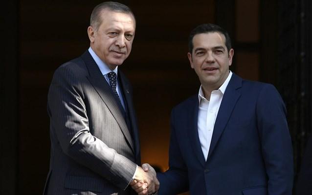 Τηλεφωνική επικοινωνία Τσίπρα – Ερντογάν