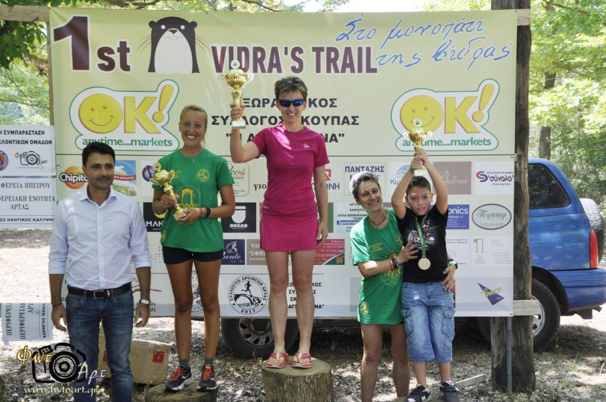 Αποτελέσματα του 1st Vidra's Trail