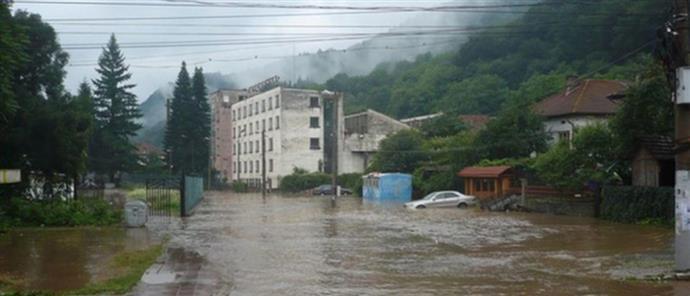 Η Βουλγαρία προειδοποιεί την Ελλάδα για πλημμύρες