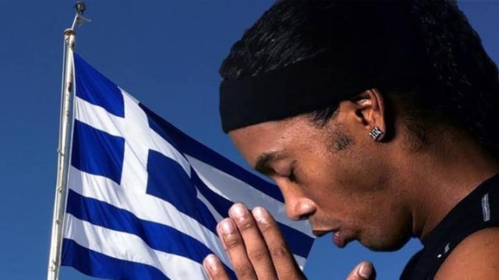 Ροναλντίνιο: «Κουράγιο Έλληνες αδελφοί μου»