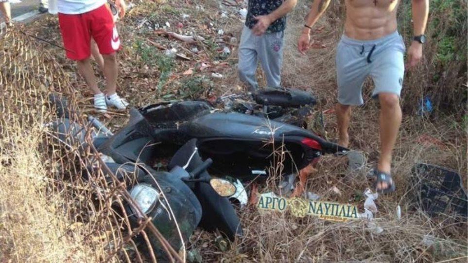 Νεκρός οδηγός μοτοσυκλέτας σε τροχαίο στην Αργολίδα