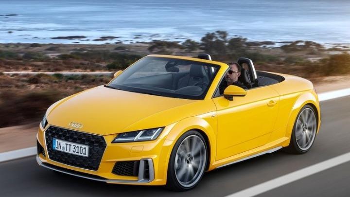 Το νέο Audi TT Roadster υπόσχεται οδηγική απόλαυση