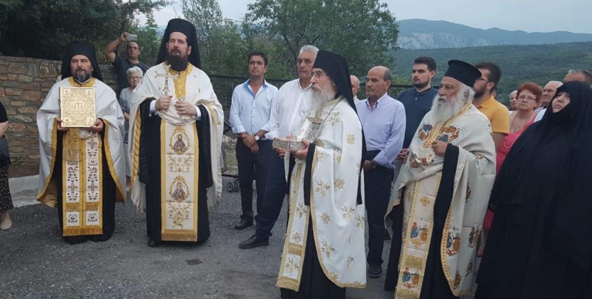 Στην Ιερά Μονή Παναγίας Γλυκοφιλούσης ο Κ. Κολλάτος