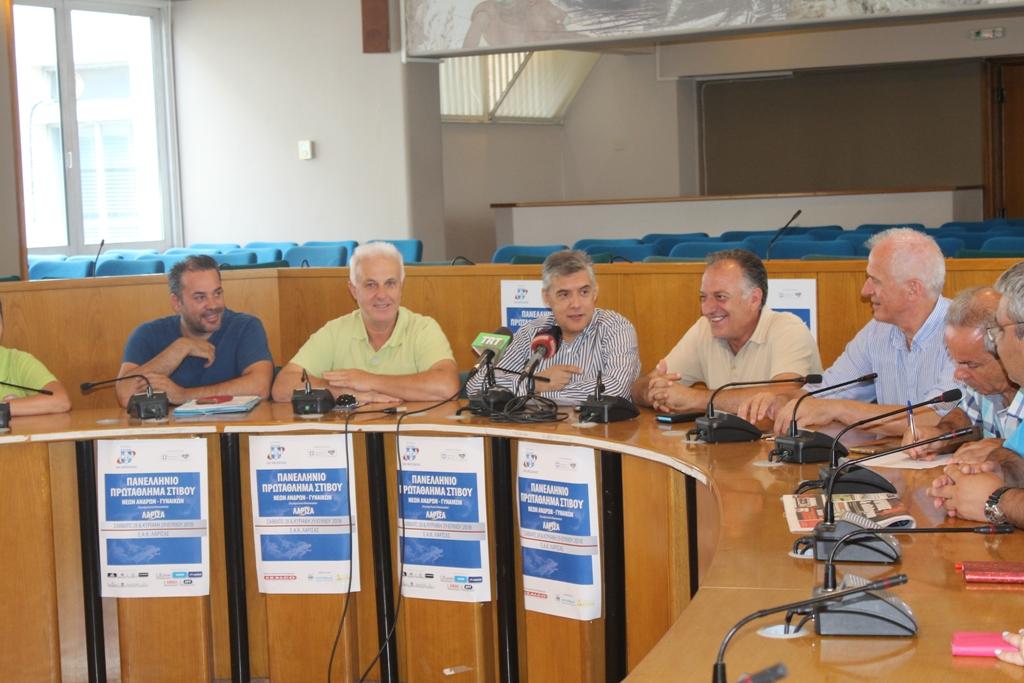 Το Πανελλήνιο Πρωτάθλημα Νέων ανδρών-γυναικών στίβου στο Αλκαζάρ