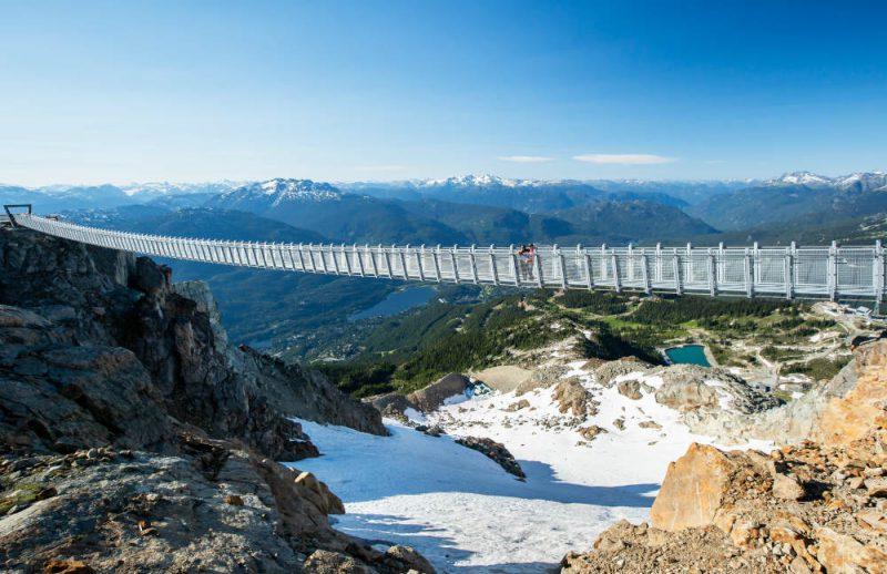Γέφυρα «κρέμεται» 2.000 μέτρα πάνω από το έδαφος