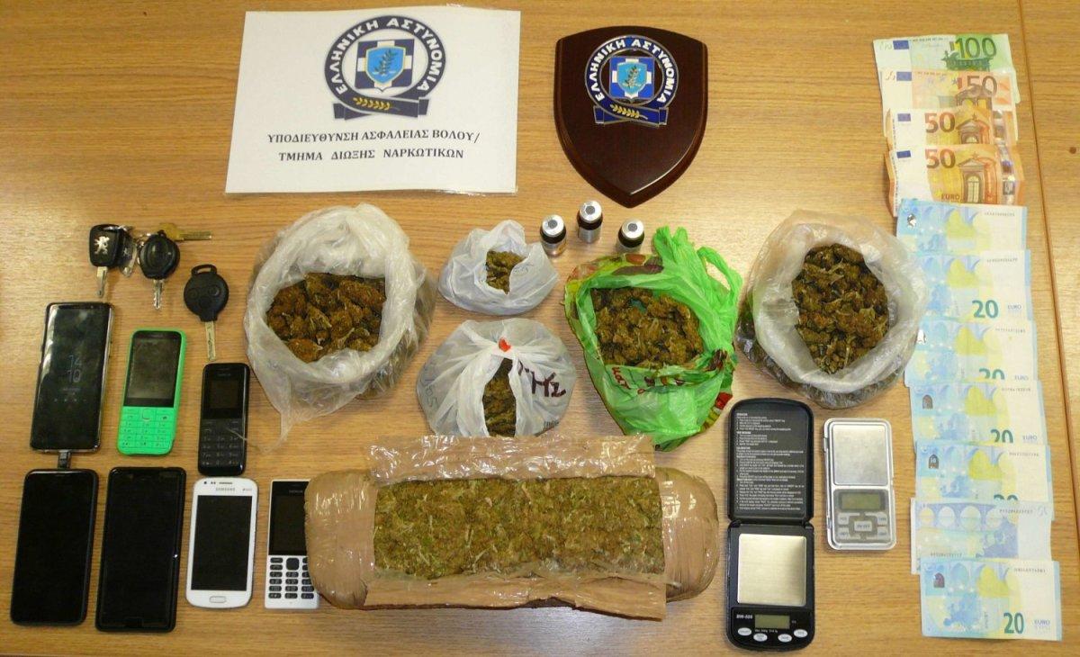 Σπείρα διακίνησης ναρκωτικών εξαρθρώθηκε στο Βόλο