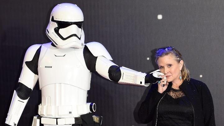 Η Κάρι Φίσερ μετά θάνατον στη νέα ταινία Star Wars