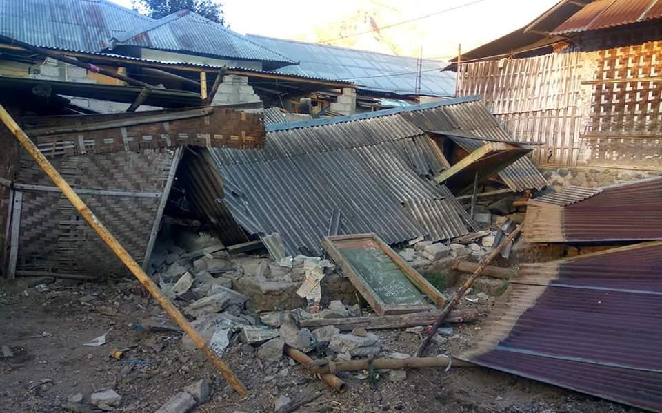 Ισχυρός σεισμός 6,4 Ρίχτερ στην Ινδονησία – Τουλάχιστον 10 νεκροί