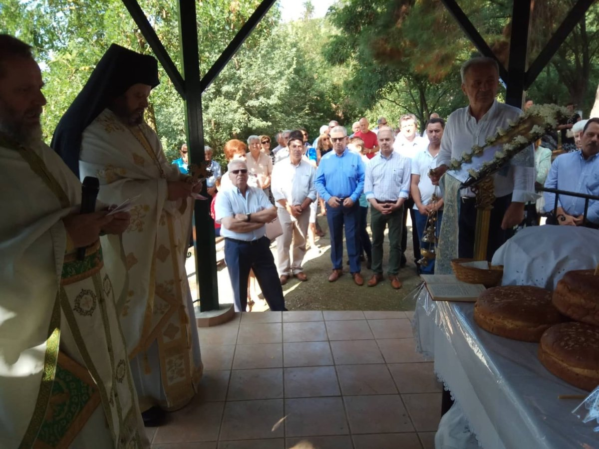 Στην Ιτέα ανήμερα της Εορτής του Αγίου Παντελεήμονος ο Γ. Μανώλης