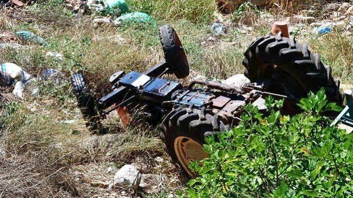 Νεκρός 41χρονος από ανατροπή του τρακτέρ που οδηγούσε