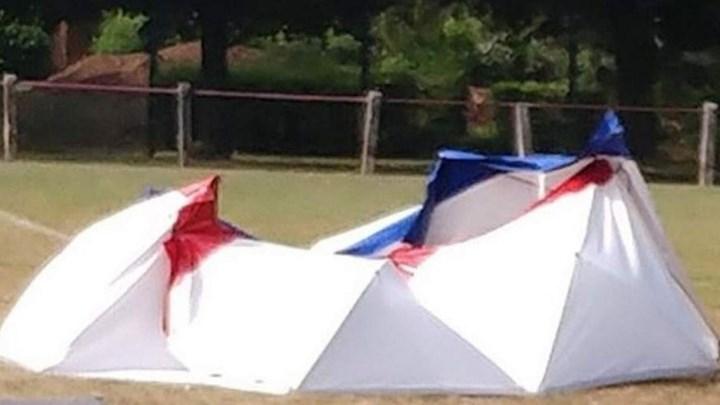 Άνδρας αυτοκτόνησε με εκρηκτικά μέσα σε γήπεδο ποδοσφαίρου