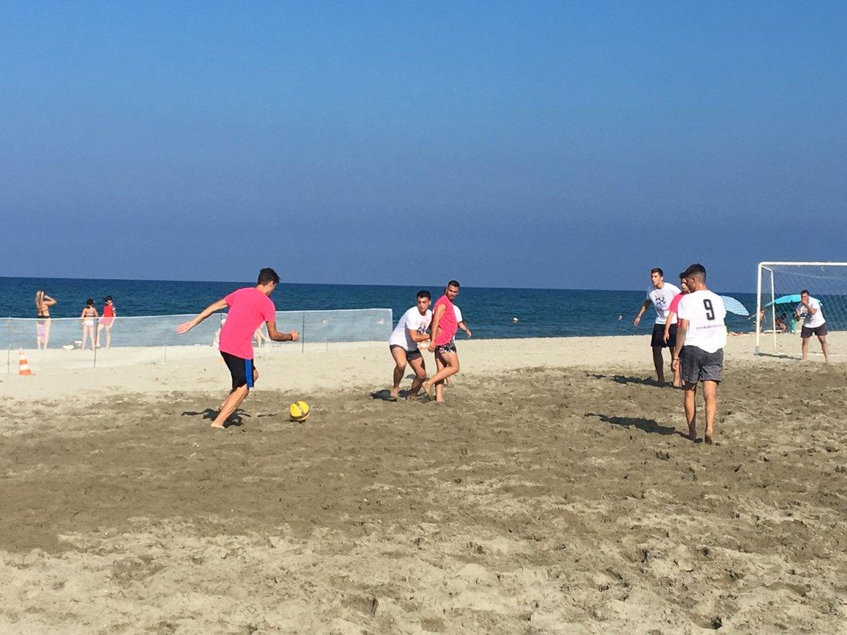 Ξεκίνησε το τουρνουά beach soccer στα Μεσάγγαλα