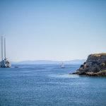 Εικόνες απο τη θαλαμηγό Hamilton στο νησί των Φαιάκων