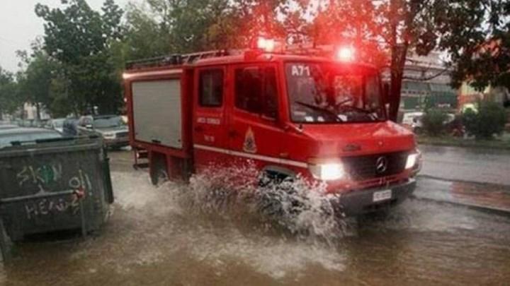 Μεγάλα προβλήματα από την καταιγίδα στη Θεσσαλονίκη
