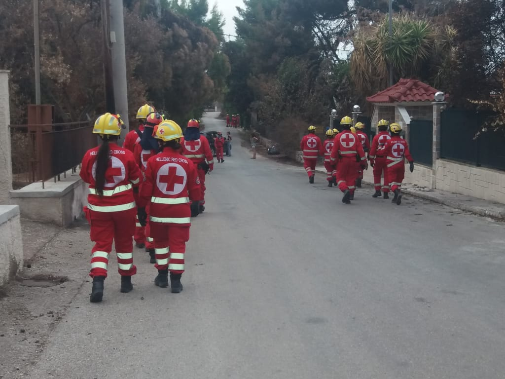 Οι Εθελοντές Σαμαρείτες της Λάρισας στο Μάτι