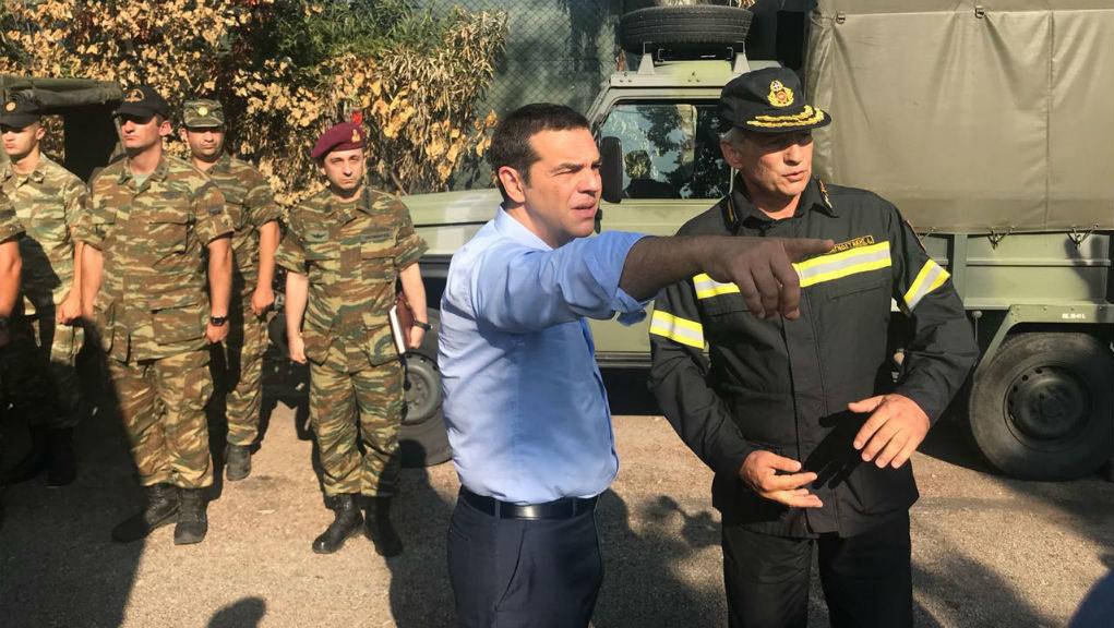 Τσίπρας: «Έναυσμα για σημαντικές αλλαγές οι τραγωδίες σε Μάνδρα και Μάτι»