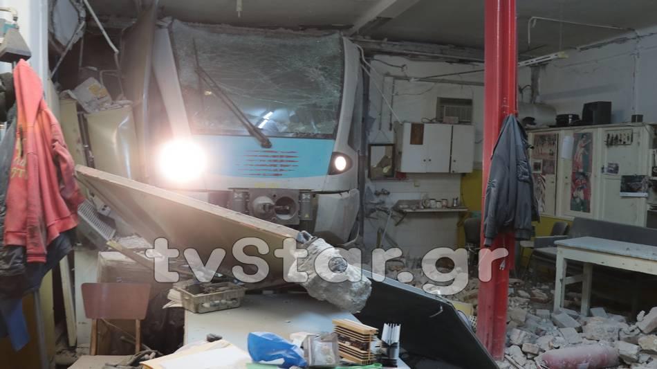 Βίντεο μετά τον εκτροχιασμό του τρένου στη Λαμία