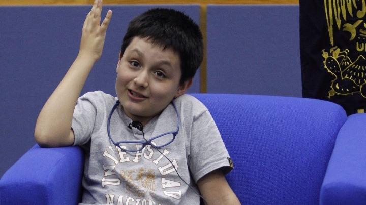 Ο 12χρονος Κάρλος, ο μικρότερος φοιτητής του UNAM