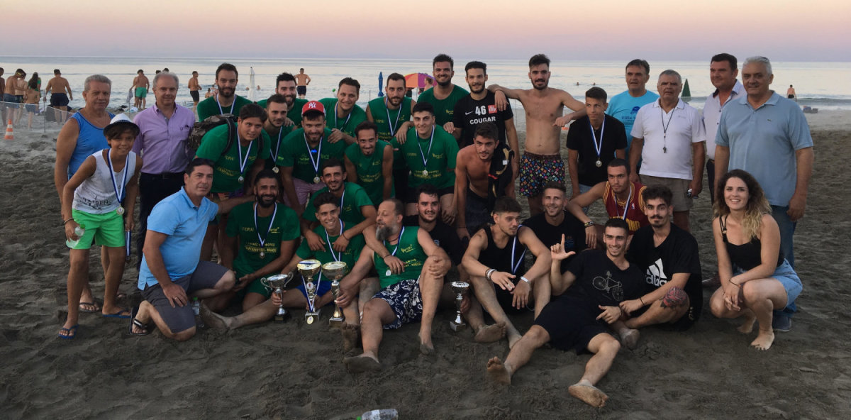Ολοκληρώθηκε το τουρνουά Beach Soccer στα Μεσάγκαλα (φωτ.)