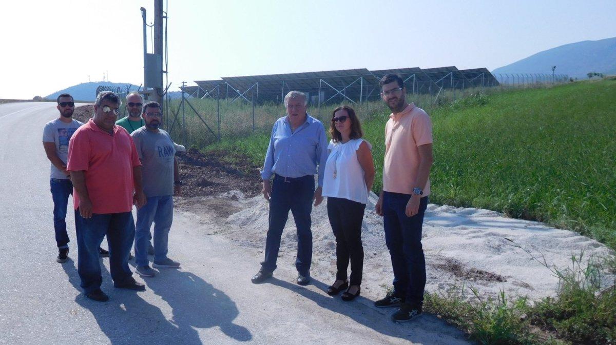 Στο έργο ύδρευσης Μοσχοχωρίου – Κυπαρισσίων ο Θ. Νασιακόπουλος
