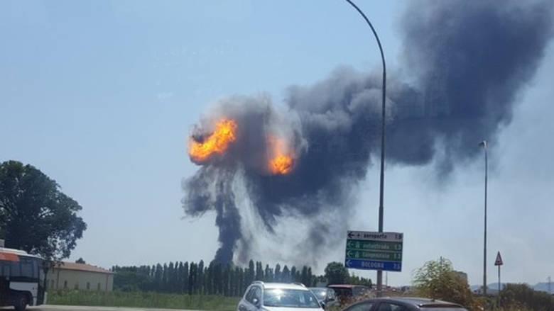 Έκρηξη κοντά στο αεροδρόμιο της Μπολόνια