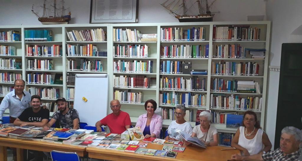 Το ΠΟ.Κ.Ε.Λ. προσέφερε βιβλία στη Λέρο