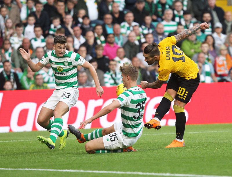 Champions League: «Ορθια» η ΑΕΚ στη Σκωτία, 1-1 με Σέλτικ