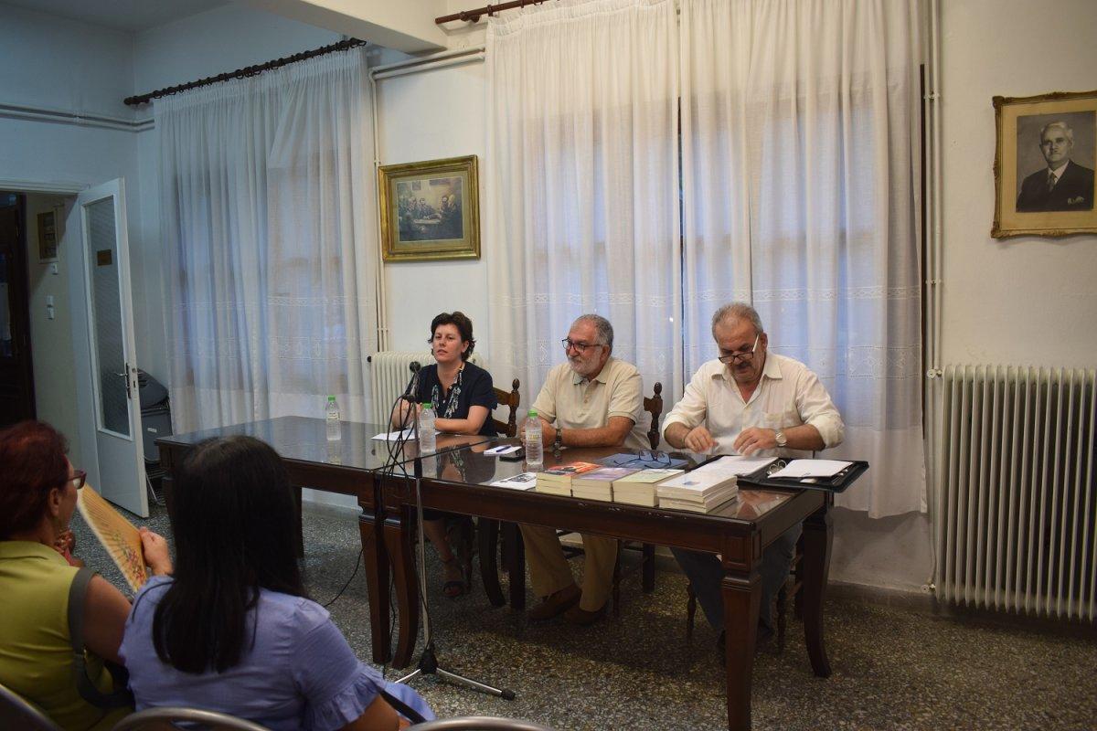Συγκίνησε ο συγγραφέας Τζεμίλ Τουράν στη Ραψάνη (φωτ.)
