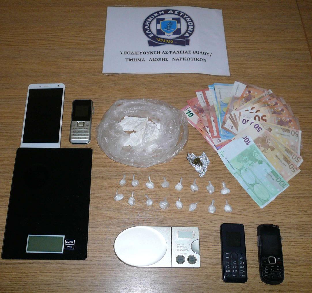 Συλλήψεις για ναρκωτικά στη Σκιάθο (φωτ.)