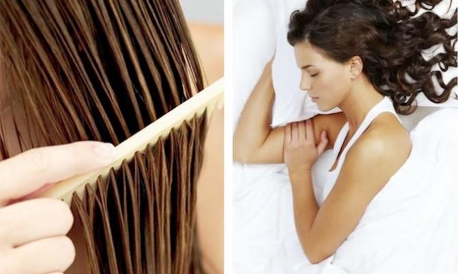 Γιατί δεν πρέπει να κοιμάστε με βρεγμένα μαλλιά