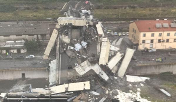 Τέσσερις Γάλλοι μεταξύ των νεκρών από την κατάρρευση γέφυρας στη Γένοβα