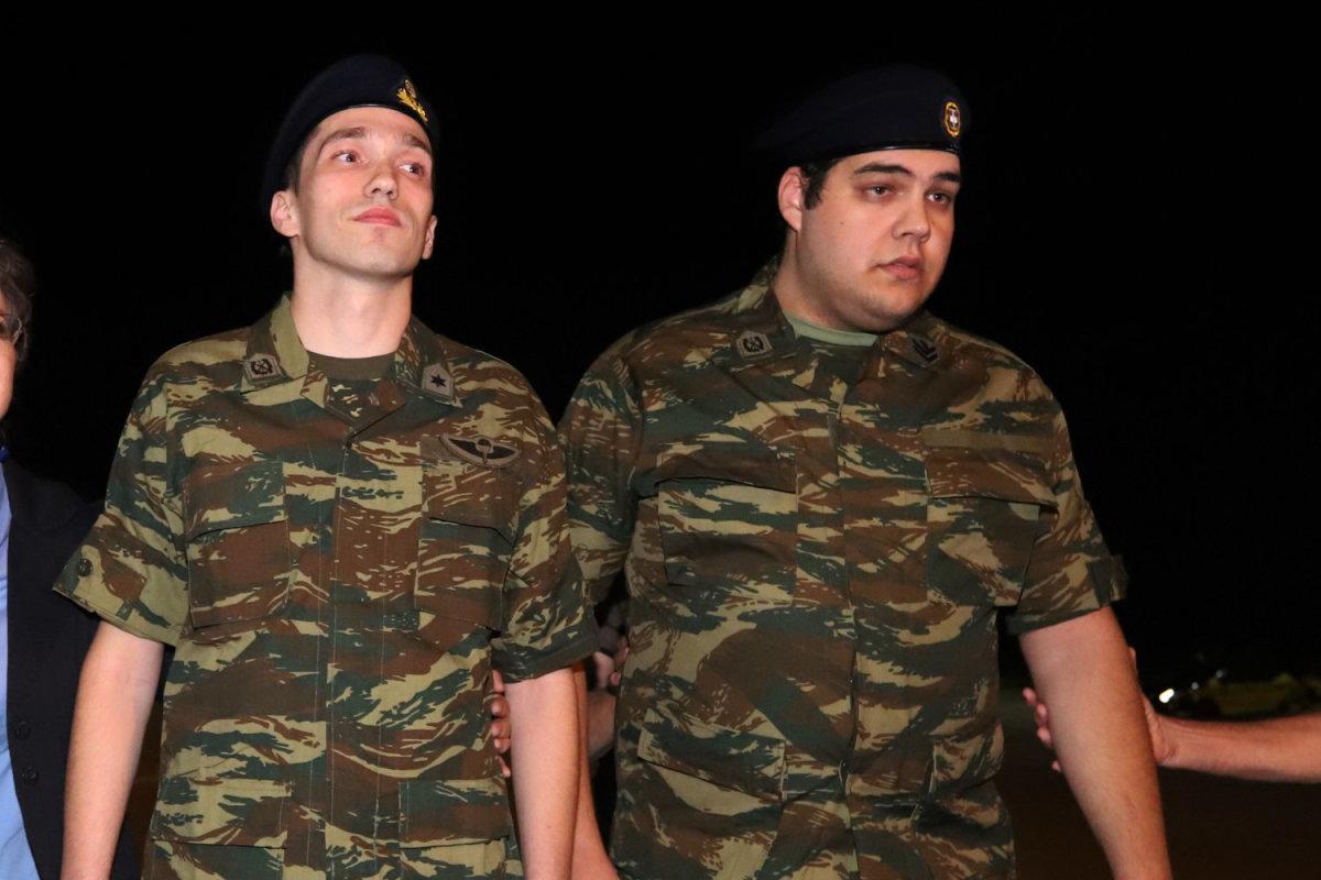 Στο 424 Στρατιωτικό Νομοσοκομείο για ιατρικές εξετάσεις οι δύο στρατιωτικοί
