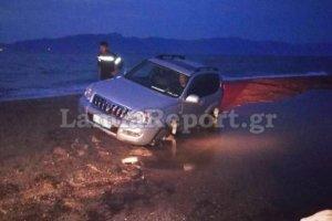 Πώς το αυτοκίνητο με την οικογένεια βρέθηκε στη θάλασσα (φωτ.)