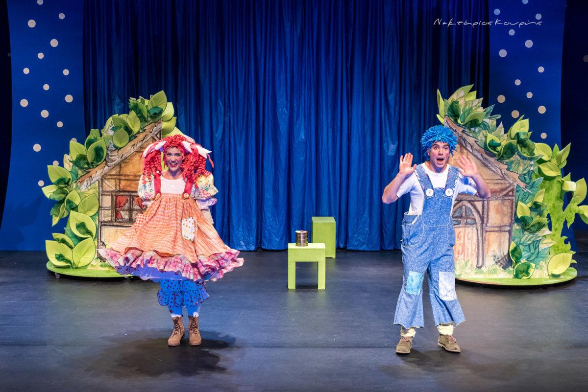 Η παράσταση της Κάρμεν Ρουγγέρη στο Κηποθέατρο