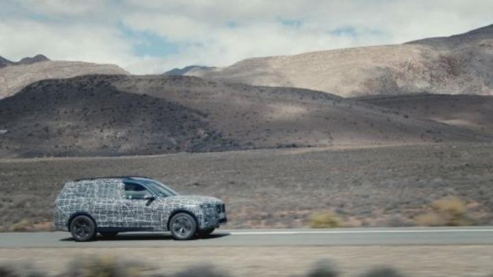 Σκληρή δοκιμασία για τη νέα BMW X7
