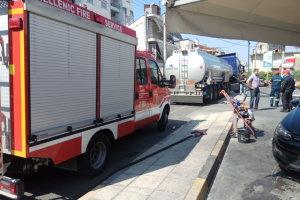 Φωτιά σε βενζινάδικο – Στο νοσοκομείο δύο γυναίκες